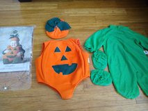 Tom Arma's Pumpkin Halloween Costume, Size 18Mos-2T, Excellent Condition in Travis AFB, California