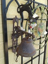 Cast Iron Scary Cat Dinner Bell #1028-140 in Camp Lejeune, North Carolina