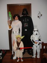 Star Wars Halloween costumes in Naperville, Illinois