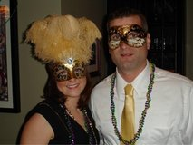 Mardi Gras, Halloween Masks in Naperville, Illinois