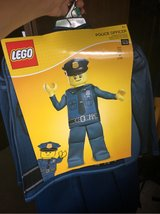 Halloween Lego police officer in Naperville, Illinois