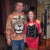 Halloween costume Lion and Lion Tamer/ring master in Naperville, Illinois