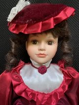 "Artmark Porcelain Victorian Doll 17"" in Chicago, Illinois"
