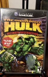 GameCube The Increible Hulk Ultimate Destruction in Westmont, Illinois