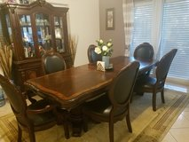 Dining Room Set with Hutch in Ramstein, Germany