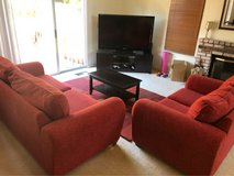couch and love seat in Fairfield, California