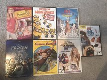 Variety dvds sold as is in Macon, Georgia