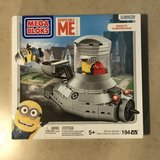 Despicable Me Mega Bloks Minion Mobile Building Set Brand New in Travis AFB, California