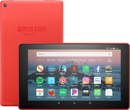 ***LIKE NEW***Amazon Fire HD 8 RED Tablet AND Case*** in Cleveland, Texas