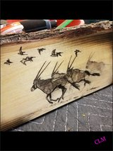 Handcrafted Art on wood! in Alamogordo, New Mexico