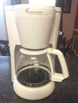Toastmaster auto shut off coffee maker 12 cup in Chicago, Illinois