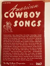 Am. Cowboy Songs Songbook in Joliet, Illinois