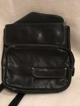 black leather Fossil purse in Wiesbaden, GE