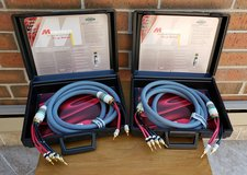 Monster Cable M-series M2.4s Bi-Wire Speaker Cable 10 Ft Pair in St. Charles, Illinois