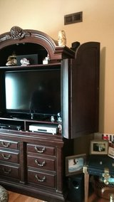 Solid wood armoire/dresser/TV center in Fort Campbell, Kentucky