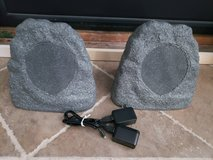 ION Audio Sound Stone Wireless Water-Resistant Outdoor Patio Rock Speaker Set in Fairfield, California