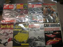OVER 100 COLLECTIBLE CAR MAGAZINES...1950'S AND NEWER in Bartlett, Illinois