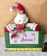 Let it Snow Hanging Snowman Decoration in St. Charles, Illinois