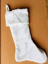 White & Green Christmas Stockings in St. Charles, Illinois