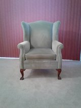 Wing-back chair in Fairfax, Virginia