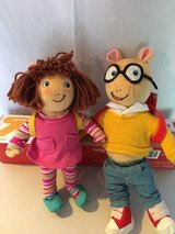 Arthur and DW dolls in Westmont, Illinois