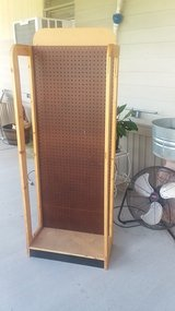 Freestanding pegboard stand for craft and craft shows in Houston, Texas
