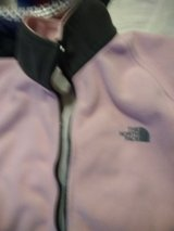 north-face  flleese   lovely jacket pink and grey in Lakenheath, UK