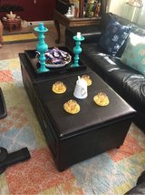 leather table with storage in Fairfield, California