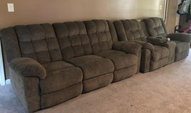 2pc recliner couch set in Fort Campbell, Kentucky