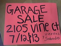 YARD SALE!!! Friday 12 and 13 in Travis AFB, California