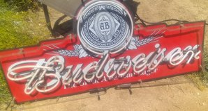 Budweiser Neon Sign in 29 Palms, California