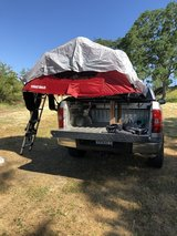 Yakima Skyrise rooftop tent in Travis AFB, California
