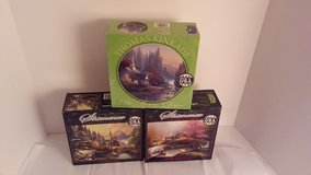 Thomas Kinkade puzzles. Set of 3 in Conroe, Texas