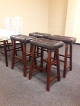 New Saddle Style Bar Stools $40 ea in Fairfield, California