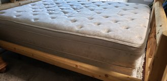 Queen Pillowtop Mattress & Box Spring in Fairfield, California