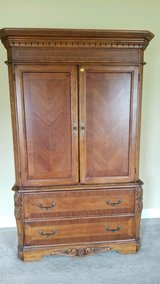 Mahogany Armoire Perfect for TV Stand in Macon, Georgia