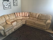 Sectional w/Hide a Bed in St. Charles, Illinois