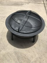 Fire pit in Houston, Texas