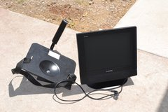 Audiovox Led DVD player TV with Wall Mount in Alamogordo, New Mexico