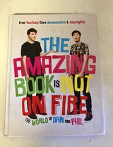 The Amazing Book is Not on Fire - The World of Dan and Phil in Glendale Heights, Illinois