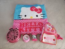 Hello Kitty Suite Case and Play Set - Lot of Items Plus Suitcase in Okinawa, Japan