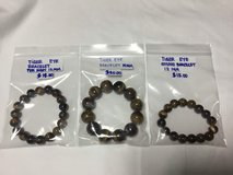 Tiger eye bracelets in Okinawa, Japan