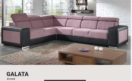 United Furniture -Galata Sectional incl. delivery - in many colors & material-2 Tone and Solid in Wiesbaden, GE