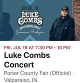 Luke Combs Concert 7/19 in Chicago, Illinois