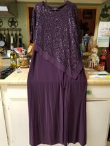 Formal Purple Gown in The Woodlands, Texas