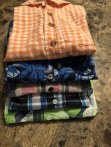 Boys Button Up short sleeve 6/7 in Houston, Texas