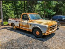 1967 Chevrolet C10 SWB Patina pickup truck in Macon, Georgia