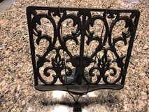 Cast Iron Book Holder  *cookbook not included* in Houston, Texas
