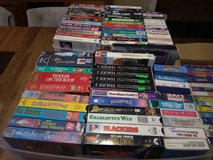 hundreds of vhs movies in 29 Palms, California