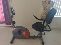 Exercise bike in Alamogordo, New Mexico
